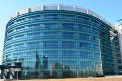 Εθνική βιβλιοθήκη στο Βουκουρέστι στοκ εικόνα με δικαίωμα ελεύθερης χρήσης