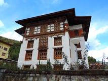 Εθνική βιβλιοθήκη του Μπουτάν, Thimphu Στοκ εικόνες με δικαίωμα ελεύθερης χρήσης