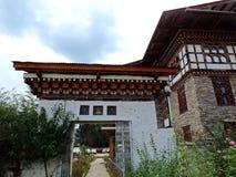 Εθνική βιβλιοθήκη του Μπουτάν, Thimphu Στοκ Εικόνες