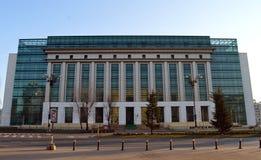 Εθνική βιβλιοθήκη, Βουκουρέστι, Ρουμανία Στοκ Φωτογραφίες