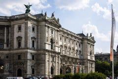 Εθνική βιβλιοθήκη στη Βιέννη Στοκ Εικόνα