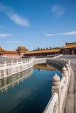 Εθνική γέφυρα Jinshui μουσείων παλατιών του Πεκίνου Στοκ Εικόνες