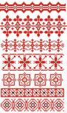 εθνική διακόσμηση ρωσικά Στοκ φωτογραφία με δικαίωμα ελεύθερης χρήσης