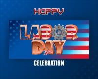 Εθνική εορτή, Εργατική Ημέρα στην Αμερική Στοκ εικόνες με δικαίωμα ελεύθερης χρήσης