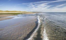 Εθνική επιφύλαξη φύσης Ynyslas στην Ουαλία στοκ φωτογραφίες