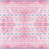 εθνική διακόσμηση άνευ ρα&p σύσταση watercolor Λευκό, ροζ και BL διανυσματική απεικόνιση