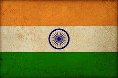 Εθνική ινδική ημέρα της ανεξαρτησίας της Ινδίας σημαιών Grunge στοκ φωτογραφίες με δικαίωμα ελεύθερης χρήσης