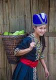 Εθνική μειονότητα Hmong στο Λάος στοκ φωτογραφία με δικαίωμα ελεύθερης χρήσης