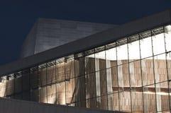 εθνική νορβηγική όπερα μπα&l Στοκ Φωτογραφία