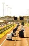 εθνική οδός αυτοκινήτων Στοκ εικόνα με δικαίωμα ελεύθερης χρήσης