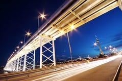 εθνική οδός γεφυρών κάτω Στοκ Φωτογραφία
