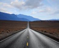 εθνική οδός ερήμων Στοκ Εικόνες