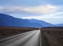 εθνική οδός ερήμων Στοκ Φωτογραφίες