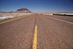 εθνική οδός ΗΠΑ της ερήμου της Καλιφόρνιας Στοκ φωτογραφία με δικαίωμα ελεύθερης χρήσης