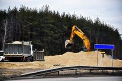 εθνική οδός κατασκευής Στοκ Εικόνες