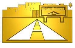 εθνική οδός ουρανού απεικόνιση αποθεμάτων