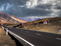 εθνική οδός ουρανού Στοκ Εικόνα
