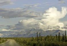 Εθνική οδός της Αλάσκας Στοκ φωτογραφίες με δικαίωμα ελεύθερης χρήσης