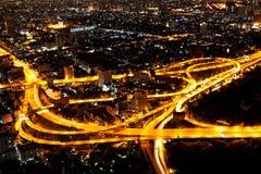 εθνική οδός της Μπανγκόκ Στοκ φωτογραφία με δικαίωμα ελεύθερης χρήσης