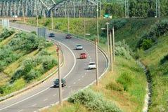 εθνική οδός στοκ εικόνα