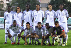 εθνική ομάδα 21 Γαλλία κάτω Στοκ Εικόνες