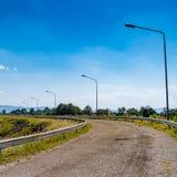 Εθνική οδός ασφάλτου Στοκ Εικόνες