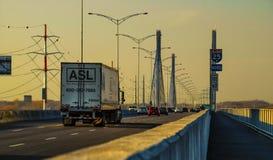 Εθνική οδός 25 γέφυρα Μόντρεαλ Στοκ Φωτογραφία