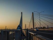 Εθνική οδός 25 γέφυρα Μόντρεαλ Στοκ Εικόνα