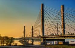 Εθνική οδός 25 γέφυρα Μόντρεαλ Στοκ εικόνα με δικαίωμα ελεύθερης χρήσης