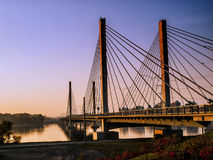 Εθνική οδός 25 γέφυρα Μόντρεαλ Στοκ φωτογραφία με δικαίωμα ελεύθερης χρήσης