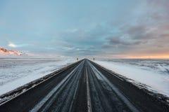 Εθνική οδός γύρω από την Ισλανδία Στοκ φωτογραφία με δικαίωμα ελεύθερης χρήσης