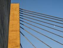 Εθνική οδός 25 λεπτομέρειες του Μόντρεαλ γεφυρών Στοκ εικόνες με δικαίωμα ελεύθερης χρήσης