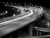 Εθνική οδός νύχτας Στοκ Εικόνα