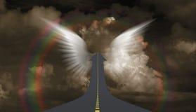 εθνική οδός ουρανού Διανυσματική απεικόνιση
