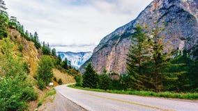 Εθνική οδός 99, ο δρόμος λιμνών Duffy στη Βρετανική Κολομβία, Καναδάς Στοκ Φωτογραφία