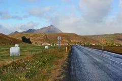 Εθνική οδός στην Ισλανδία Στοκ φωτογραφία με δικαίωμα ελεύθερης χρήσης