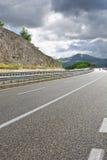 Εθνική οδός στην Ιταλία Στοκ φωτογραφία με δικαίωμα ελεύθερης χρήσης