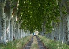 Εθνική οδός στην Προβηγκία Στοκ Φωτογραφίες