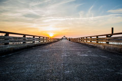 Εθνική οδός στον ουρανό Στοκ εικόνες με δικαίωμα ελεύθερης χρήσης