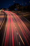 Εθνική οδός τη νύχτα Στοκ Φωτογραφίες
