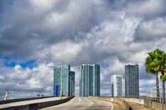 Εθνική οδός του Μαϊάμι υπαίθρια Στοκ εικόνα με δικαίωμα ελεύθερης χρήσης