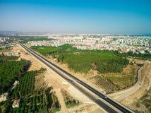Εθνική οδός Antalya Τουρκία Στοκ εικόνες με δικαίωμα ελεύθερης χρήσης