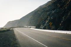 Εθνική οδός Pacific Coast, σε Malibu, Καλιφόρνια Στοκ Φωτογραφίες