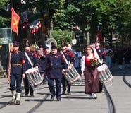 εθνική παρέλαση Ελβετός &et Στοκ εικόνες με δικαίωμα ελεύθερης χρήσης