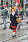 εθνική παρέλαση Ελβετός &et Στοκ φωτογραφία με δικαίωμα ελεύθερης χρήσης