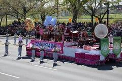 2016 εθνική παρέλαση ανθών κερασιών στο Washington DC Στοκ φωτογραφία με δικαίωμα ελεύθερης χρήσης