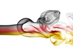 Εθνική σημαία καπνού της Γερμανίας Στοκ εικόνες με δικαίωμα ελεύθερης χρήσης