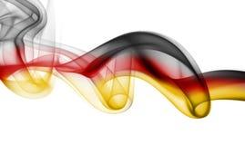 Εθνική σημαία καπνού της Γερμανίας Στοκ φωτογραφία με δικαίωμα ελεύθερης χρήσης