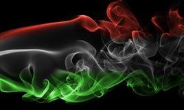 Εθνική σημαία καπνού της Ουγγαρίας Στοκ εικόνες με δικαίωμα ελεύθερης χρήσης