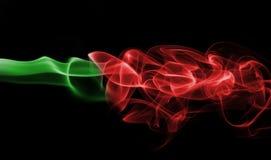 Εθνική σημαία καπνού της Πορτογαλίας Στοκ Φωτογραφία